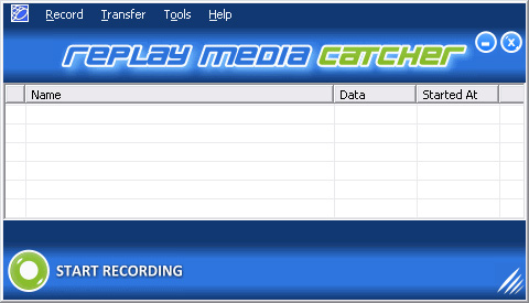 How to download youtube videos open replay media catcher it appears like this ccuart Images